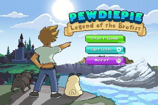 Games Like PewDiePie: Legend of Brofist