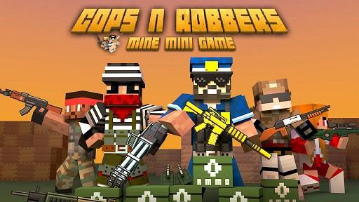Cops N Robbers - FPS Mini Game is like Pixel Gun 3D