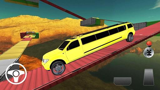 Limo Car Racing On Impossible Tracks screenshot