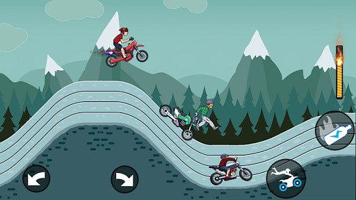 Mad Motor - Motocross racing - Dirt bike racing screenshot