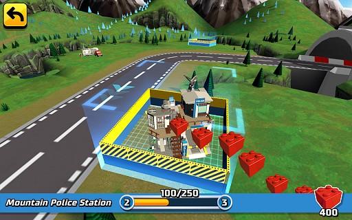 LEGO® City game - new Mountain Police fun! vs LEGO Juniors Create & Cruise