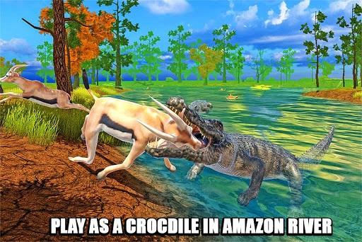 Crocodile Family Sim game