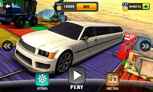 Impossible Limo Driving Simulator Tracks game
