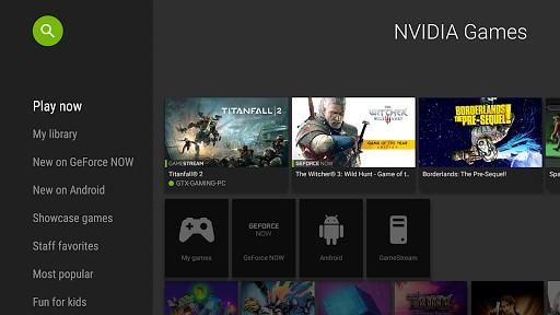 NVIDIA Games game