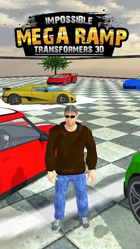 Transformers Car Ramp Drive 3D game