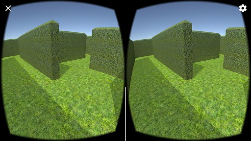 VR Maze Game game