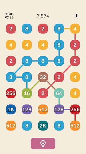 2248 similar to 2 For 2: Connect the Numbers Puzzle