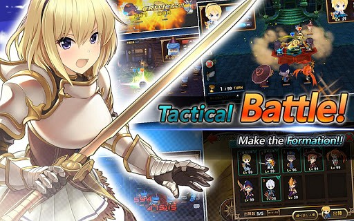 TacticsLand(SRPG) game like The Impossible Quiz!