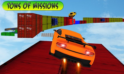 stunt car race impossible tracks game like Dirt Trackin Sprint Cars